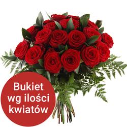 Bukiet 7 róż Telekwiaciarnia